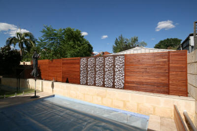 Screening Over Existing Fences