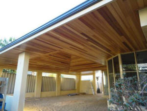 Cedar Timber Ceiling Lining Boards In Brentwood
